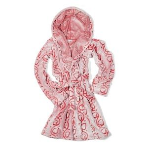Vera Bradley Fleece Robe Stitched Vine